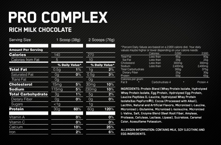 optimum-pro-complex-supplement-facts