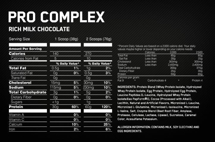 optimum-pro-complex-supplement-facts