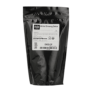 ريشي-الشاي العضوي وايت-الجينسنغ-السموم