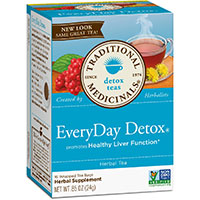전통적인 Medicinals 매일 Detox 차