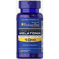 Puritans Pride Premium Super Strength Melatoniini