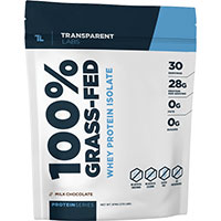 Trong suốt Phòng thí nghiệm Protein Dòng 100 Cỏ Fed Whey Protein Isolate