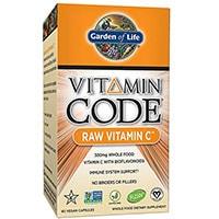 სიცოცხლის ბაღი ვიტამინის კოდექსი Raw ვიტამინი C