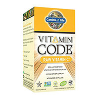 Garden of Life Vitamin Kod Raw Vitamin C