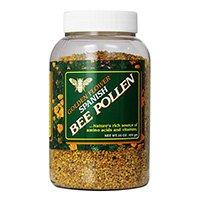 златисто-цвете-Испански-пчела-цветен прашец