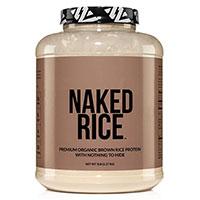 Голият ориз 100 органично прорасна с гола храна