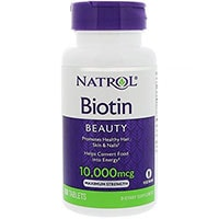 Natrol Biotina Maximum Strength