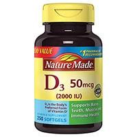 ბუნება Made ვიტამინი D3