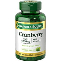 Natures Bounty Cranberry Med Vitamin C