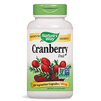 Natures Way Cranberry ხილის
