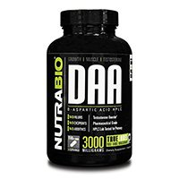 nutrabio-daa-d-aspartique-acide en poudre