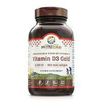 Nutrigold Vitamin D3 Gold 2000 IU