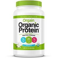 Orgain végétaux organiques à base de poudre de protéine