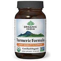 ორგანული ინდოეთის Turmeric ფორმულა