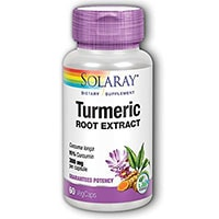 Απόσπασμα Solaray Turmeric Root