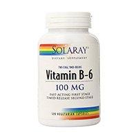 solaray ویتامین b6