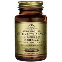 Solgar methylcobalamin Vitamin B12