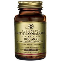 Solgar Methylcobalamin ვიტამინი B12