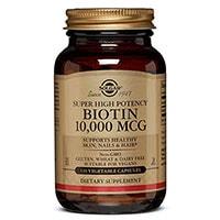 Solgar Super alta potenza biotina