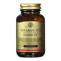 solgar والفيتامينات d3