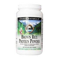 Poudre de protéines de riz brun nature naturel Naturals