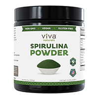 Viva Naturals Spirulina ფხვნილი