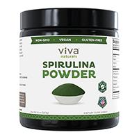 विवा Naturals Spirulina पाउडर