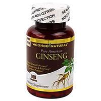 Woohoo naturel Ginseng américain pur