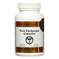 Medicinales Aloha puro Cordyceps