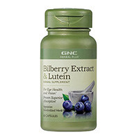 GNC Herbal Plus Bilberry Extract