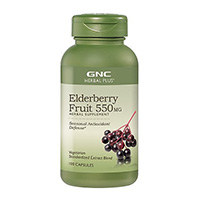 GNC Herbal Plus Elderberry Fruit