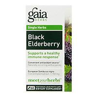 Gaia მწვანილი შავი Elderberry
