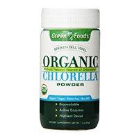 alimentos-verdes-orgânicos-chlorella-pó