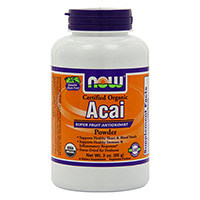 NOW Foods Certified Organic Acai Pulver