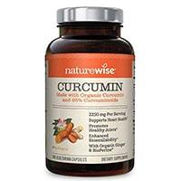 Naturewise Vcaps Οργανική κουρκουμίνη