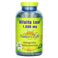 Nature's Life Alfalfa Leaf