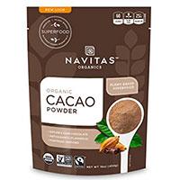 Navitas Naturals οργανικές πρώτες αιχμές κακάο