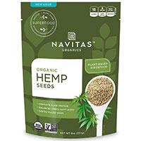 Semi Raw Navitas Naturals organico di canapa
