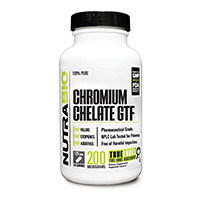 NutraBio Chelated Chromium GFT