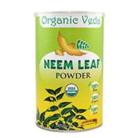 Organic Veda orgânica Folha de Neem