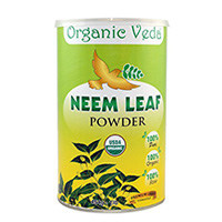 Organic Veda organico Neem Leaf