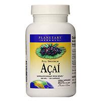 Planetêre Herbals volle spektrum Acai