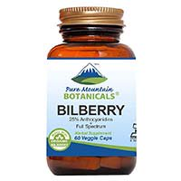 Pure Gunung Botanicals Bilberry Leaf