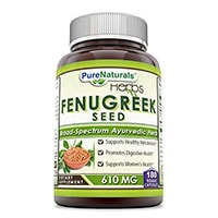 Pure Naturals Fenugreek Seed
