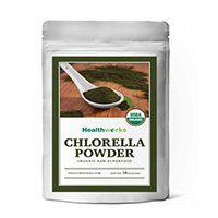raw-organisk-chlorella-pulver
