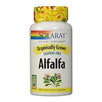 Solaray Organic Alfalfa