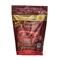 Spectrum Essentials Ground Flaxseed with Mixed Berries
