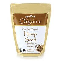 Swanson hữu cơ được chứng nhận hữu cơ Hemp hạt giống
