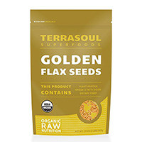 Terrasoul Superfoods Golden Flaxseed