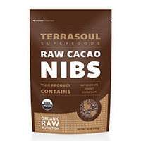 Terrasoul Superfoods premières organiques Cacao Nibs